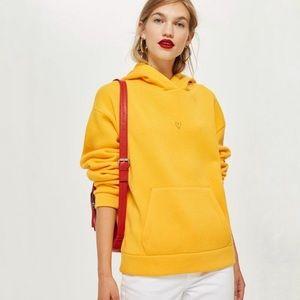Topshop yellow heart sunshine hoodie 4 F